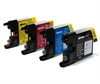Brother Compatible Ink Cartridges - LC1240 / LC1220 CMYK - 4 item Multipack
