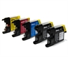 Brother Compatible Ink Cartridges - LC1240 / LC1220 CMYK/K - 5 item Multipack