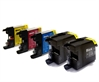 Brother Compatible Ink Cartridges - LC1280CMYK/K - 5 item Multipack