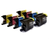 Brother Compatible Ink Cartridges - LC1280CMYK - 8 item Multipack