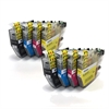 LC3213 x2 Sets Cyan, Magenta, Yellow & Black Compatible Ink Cartridges - 8 item Multi-Pack