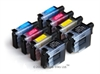 Brother Compatible Ink Cartridges 8 Item Multipack - CMYKx2 of LC09 / LC41 / LC47 / LC900 / LC950