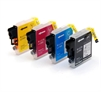 Brother Compatible Ink Cartridges 4 Item Multipack LC985 / LC39