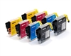 Brother Compatible Ink Cartridges 8 Item Multipack LC985 / LC39