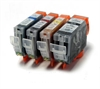 Canon Compatible Ink Cartridges - 4 Item Multipack