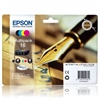 Epson Original Multipack Cyan/Magenta/Yellow/Black Ink Cartridges Pen and Crossword Series 16