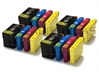 Epson 27XL x4 Full Sets Compatible Ink Cartridges Alarm Clock Series - 16 item Multipack