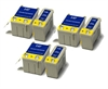 Epson Compatible Multipack Ink Cartridges - 6 item Multipack T026 / T027