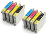 Epson Compatible Ink Cartridges 8 item Multipack - T0445 x 2