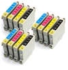 Epson Compatible Ink Cartridges 12 item Multipack - TO445 x 3