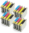 Epson Compatible Ink Cartridges -16 item Multipack - T0445 x4