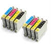Epson Compatible Ink Cartridges 8 item Multi-pack - T0555 / E-555