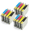 Epson Compatible Ink Cartridges 12 item Multi-pack - T0555 / E-555