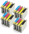 Epson Compatible Ink Cartridges 16 item Multi-pack - T0555 / E-555