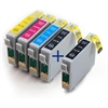 Epson Compatible Ink Cartridges 5 Item Multipack T0715 + T0711