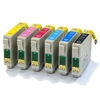 T0797 Epson Compatible Ink Cartridges - 6 item multipack - Owl Series - E-797 / TO797
