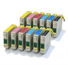 2 x T0807 Epson Compatible Ink Cartridges 12 item multipack - TO807 / E-807