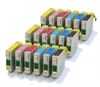 3 x T0807 Epson Compatible Ink Cartridges 18 item multipack - TO807 / E-807