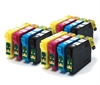 Epson Compatible 12 Item Multipack Ink Cartridges Fox Series T1285