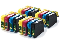 T1281 T1282 T1283 T1284 - Epson Compatible 16 Item Multipack Ink Cartridges Fox Series T1285