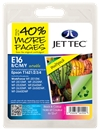 E16 Remanufactured Ink Cartridges Pen and Crossword Series 16XL / T1636 - 4 Item Multipack