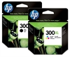 HP300XL Black and Colour Original High Capacity HP Ink Cartridges HP300 CC641EE CC644EE