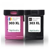 H303XL Black & Colour Own Brand High Capacity Remanufactured Ink Cartridges - HP303XL - 2 item Multipack