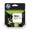 HP 304 High Capacity Colour Original HP Printer Ink Cartridge - HP304XL / N9K07AE