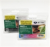 H62XL Black & Colour JetTec Remanufactured High Capacity Ink Cartridges HP62 - 2 item Multipack