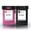 H62XL Black & Colour Remanufactured High Capacity Ink Cartridges HP62
