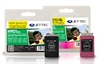 H901 Black & Colour Remanufactured Printer Ink Cartridges HP901 - 2 item pack