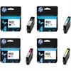 HP 903 Black, Cyan, Magenta & Yellow Original Printer Ink Cartridges HP903 - 4 item multipack