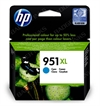 HP 951XL Cyan Original High Capacity Printer Ink Cartridge - HP951XL