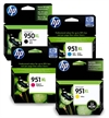 HP 950XL / HP 951XL Original High Capacity Ink Cartridges - 4 item Multipack - HP950XL / HP951XL