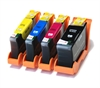 Lexmark Hi-Capacity Compatible Ink Cartridges - 4 Item Multipack - 100XL