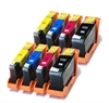 Lexmark Hi-Capacity Compatible Ink Cartridges - 8 Item Multipack - 100XL