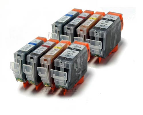 Canon Compatible Ink Cartridges - 8 Item Multipack