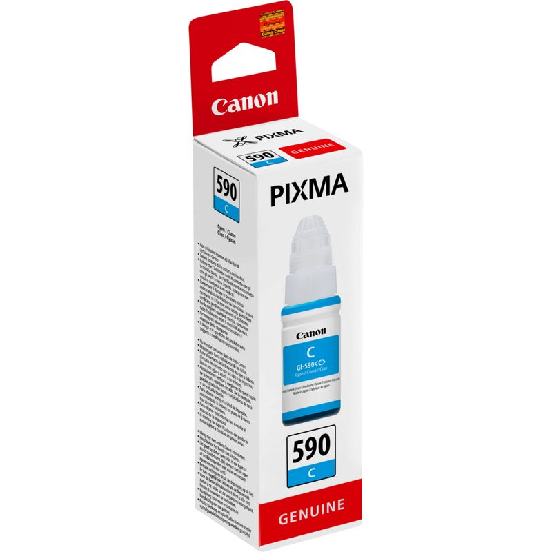 GI-590 Cyan Original Canon Printer Ink Bottle 1604C001