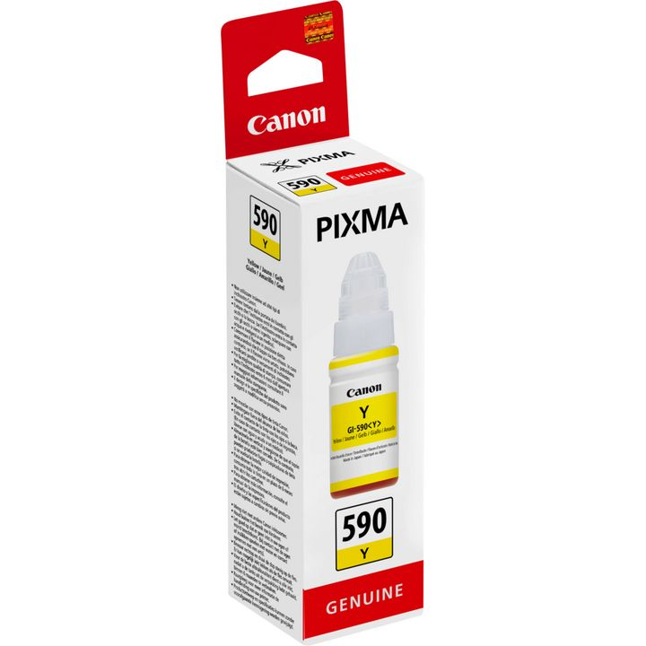 GI-590 Yellow Original Canon Printer Ink Bottle 1606C001