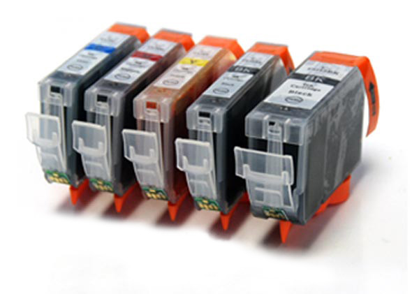 Canon 525 / 526 - 5 Item Multipack Canon Compatible Printer Ink Cartridges - PGI-525 / CLI-526 CMYK