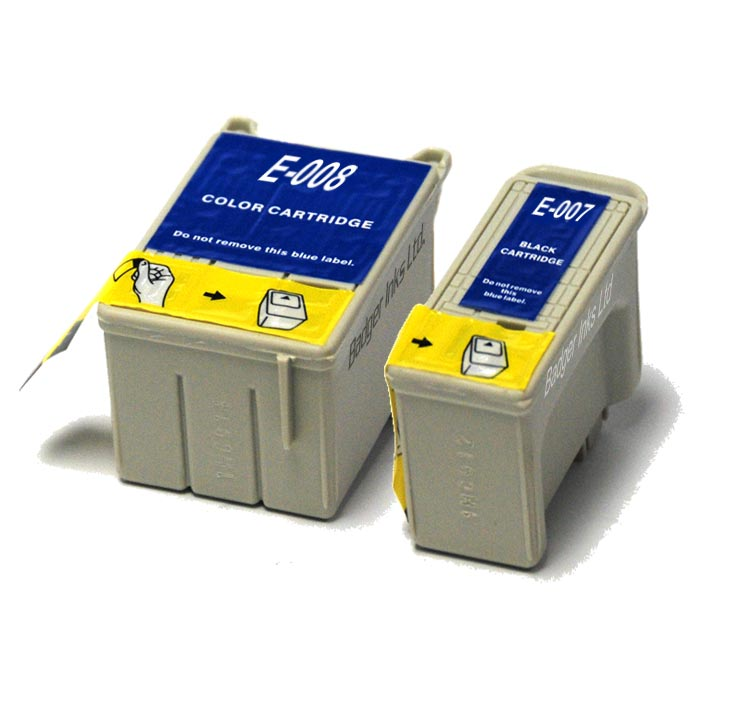 Epson Compatible Multipack Ink Cartridges T007 / T008