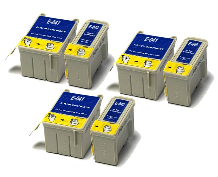 Epson Compatible Multipack Ink Cartridges - 6 item Multipack T040 / T041
